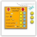 School bag check list – Product of the Month