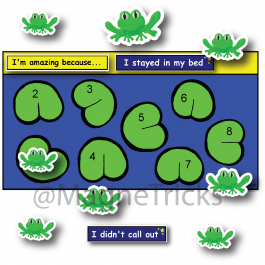 Frogs Magnetic Reward Chart