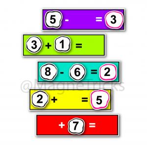 Magnetic Addition / Subtraction set