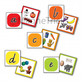 Alphabet Matching Magnets