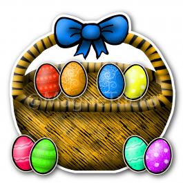 Magnetic Easter Egg Hunt set
