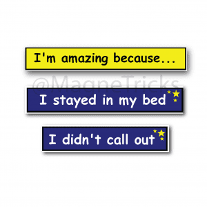 Bed time Focus Magnets